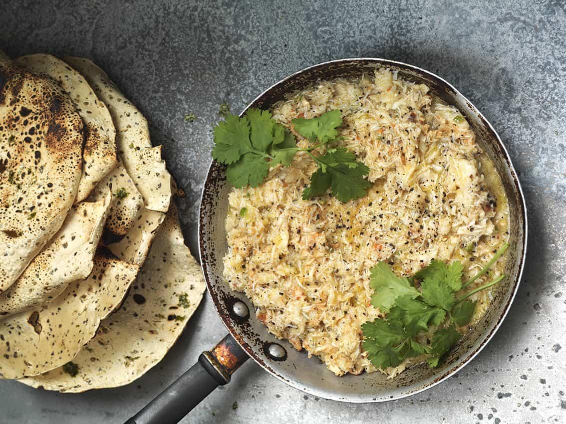 Kricket Butter Garlic crab recipe | Photo: Hugh Johnson
