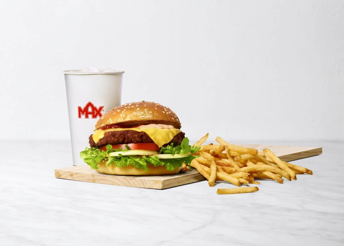 MAX Burgers Delifresh Plant Beef
