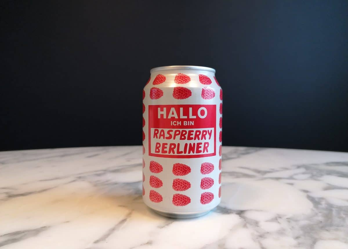 Mikkeller Ich Bin Raspberry Berliner Euro 2020 - the best beers from all 24 competing countries