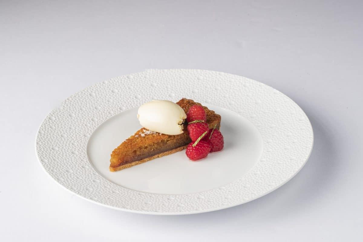 Shaun Rankin's Famous Treacle Tart recipe