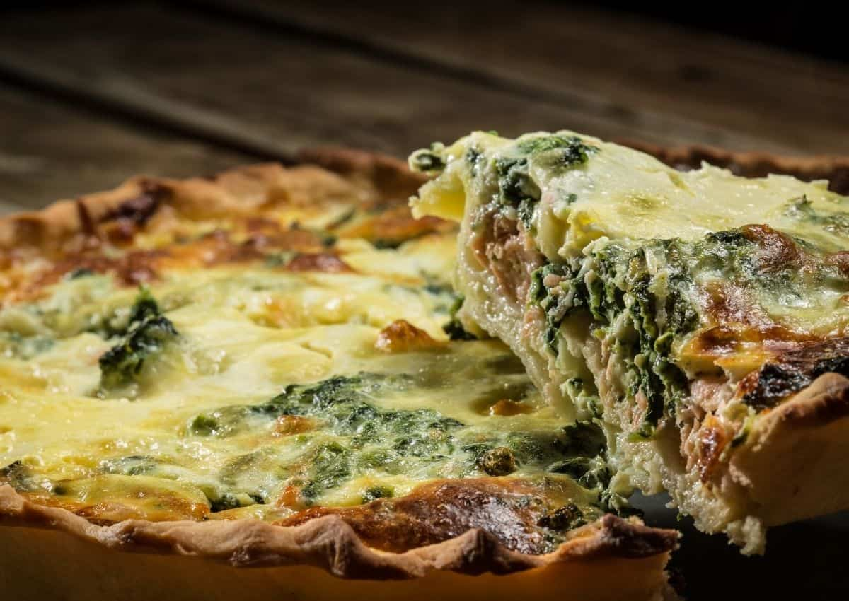 How To Make: Bacon, Spinach and Mushroom Quiche