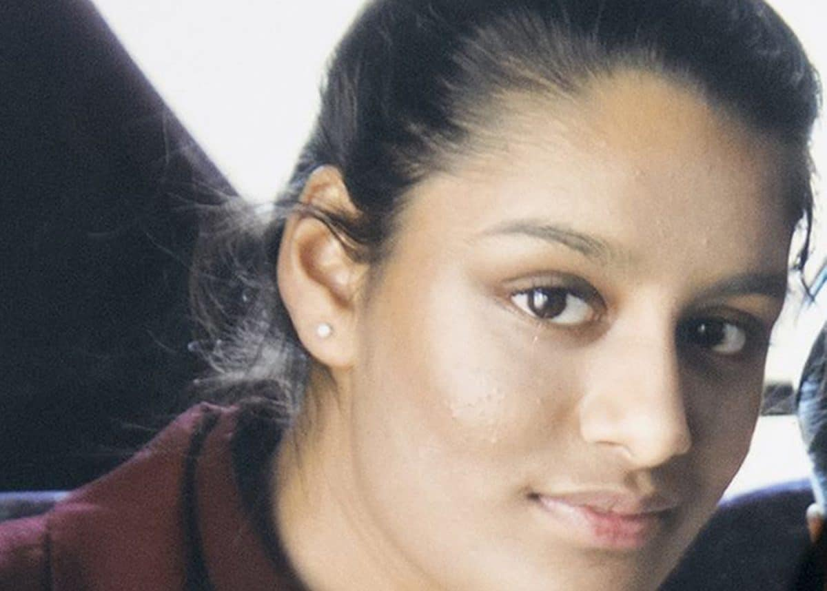 Undated file photo of Shamima Begum whose potential return to the UK to challenge the deprivation of her British citizenship will be considered by the Supreme Court.
