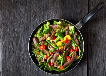How To Make: Steak Strips and Roasted Vegetables