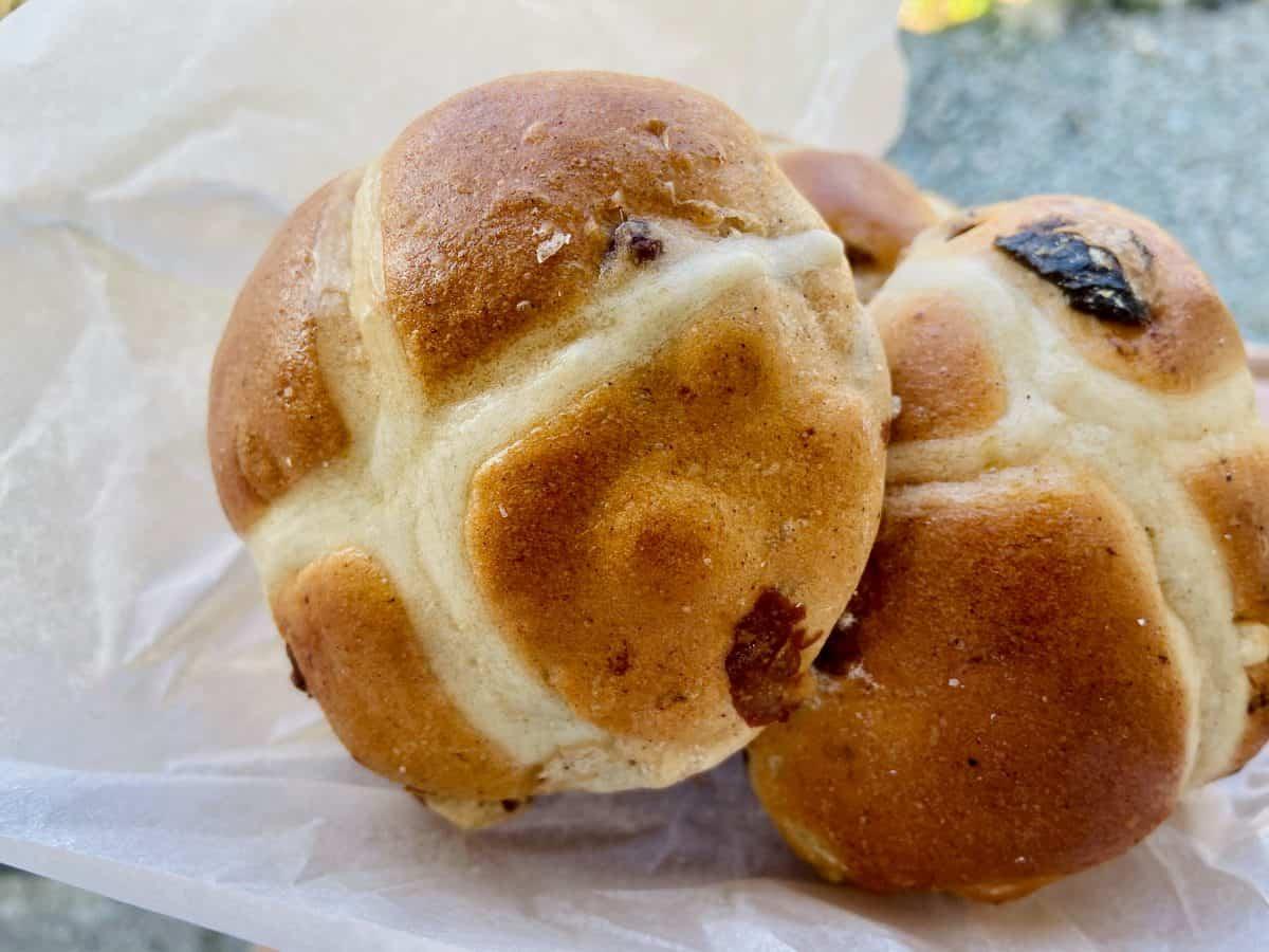 Paul Leonard - Hot Cross Buns recipe