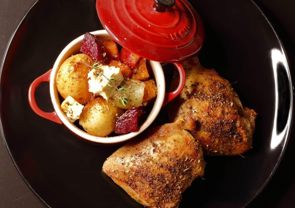 How To Make: Easy Roast Chicken & Veg