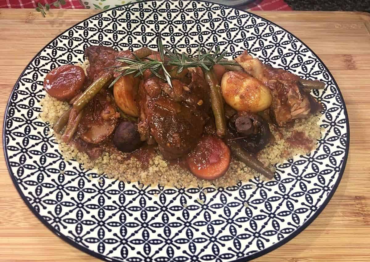 How To Make: Rosemary Lamb and Red Wine Stew