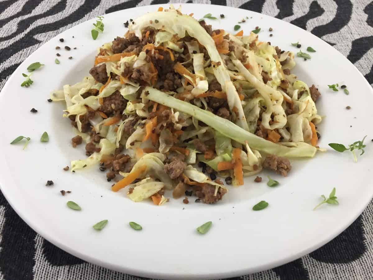 How To Make: Beef Cabbage Stir-fry