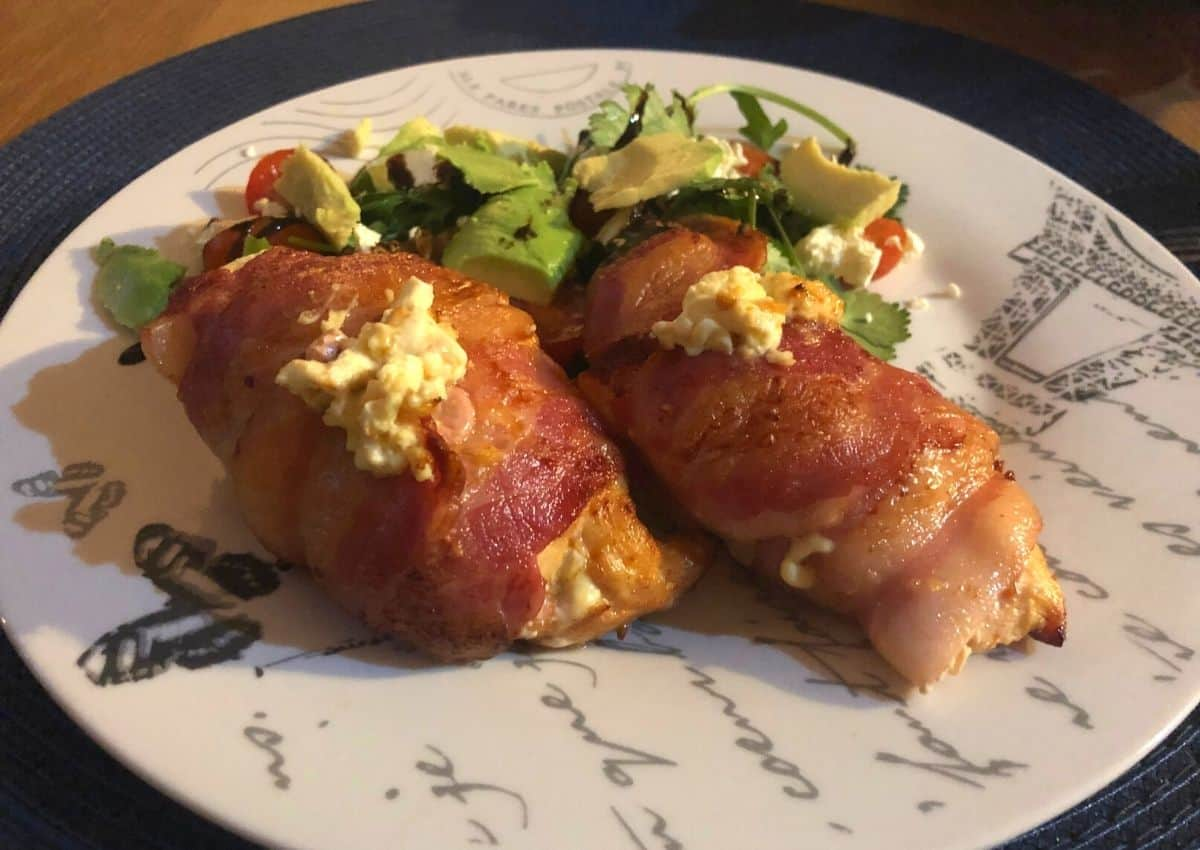 How To Make: Bacon-wrapped Stuffed Chicken Breast