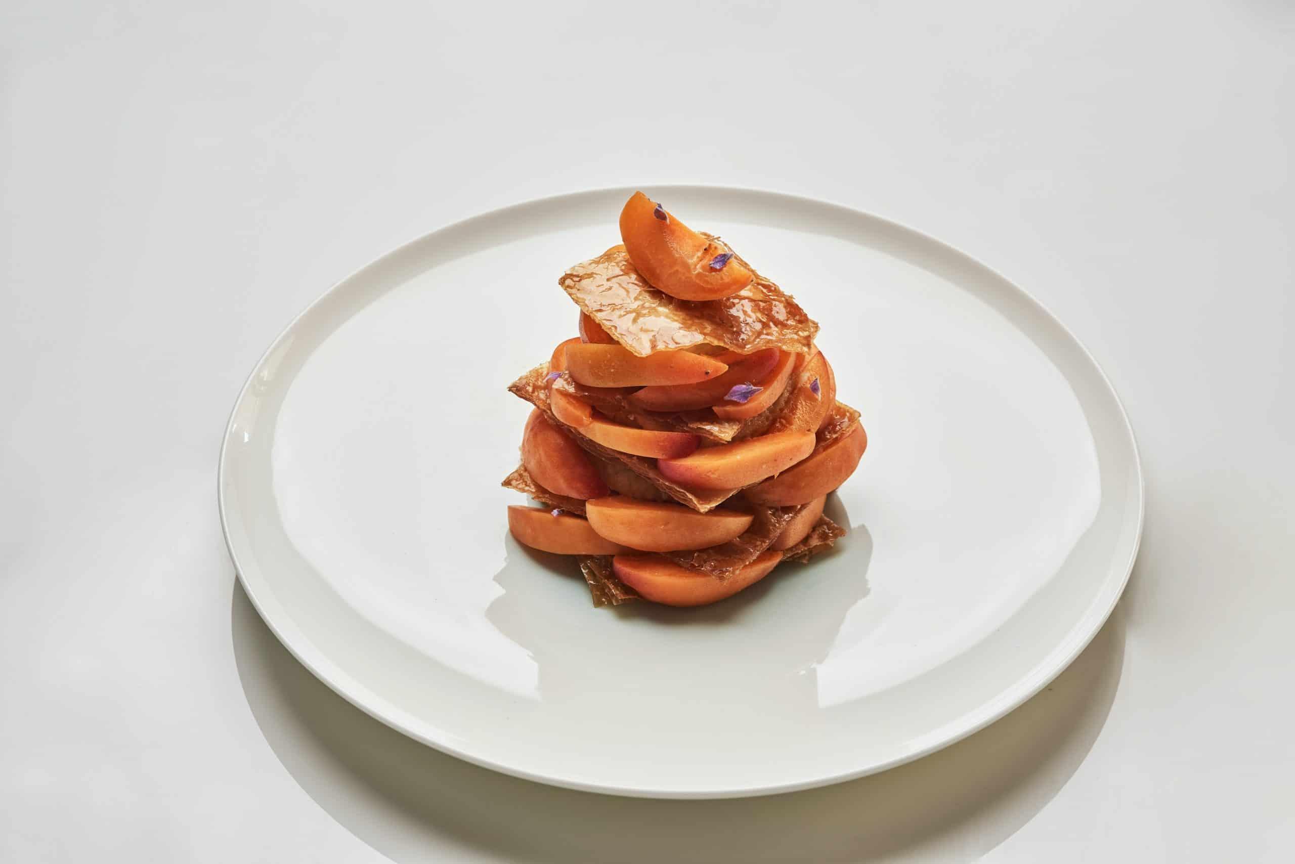 Pied à Terre Apricot Greek Milk Pie recipe