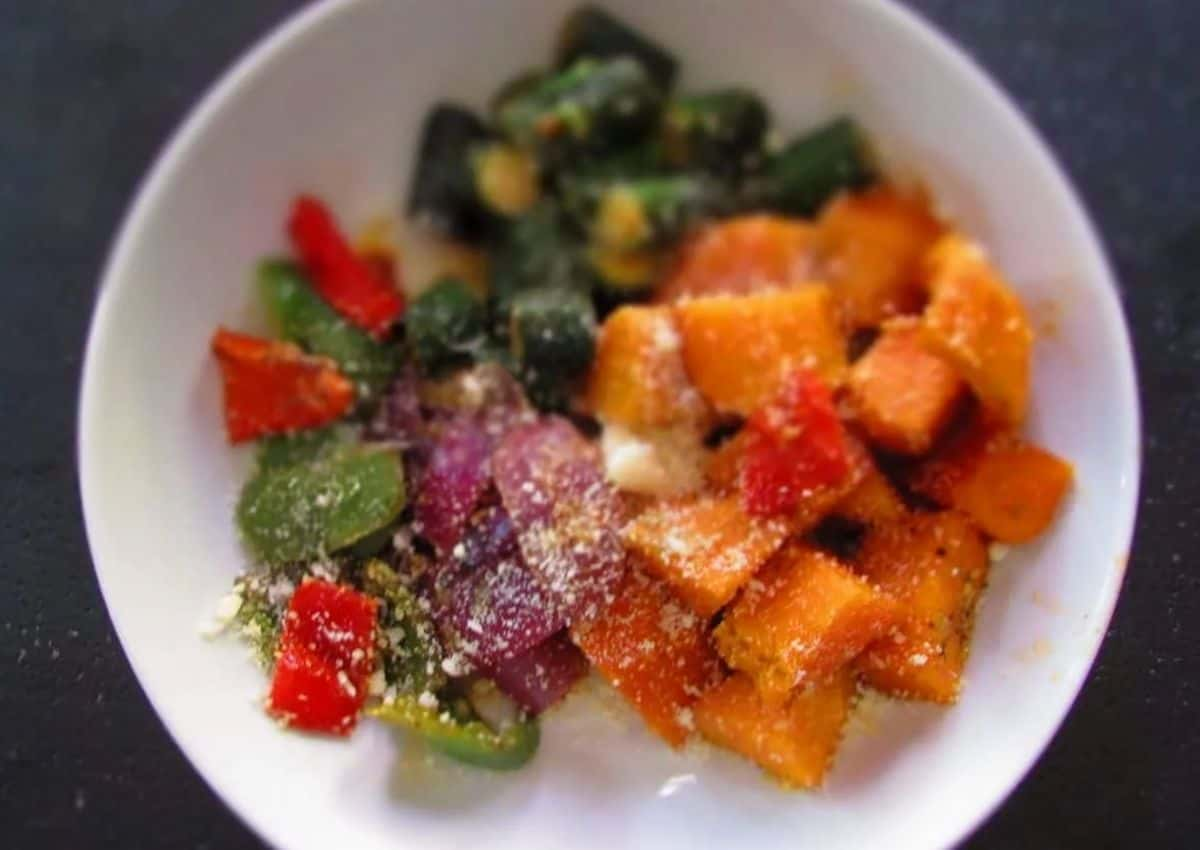 How To Make: Veggies Sprinkled with Parmesan Cheese