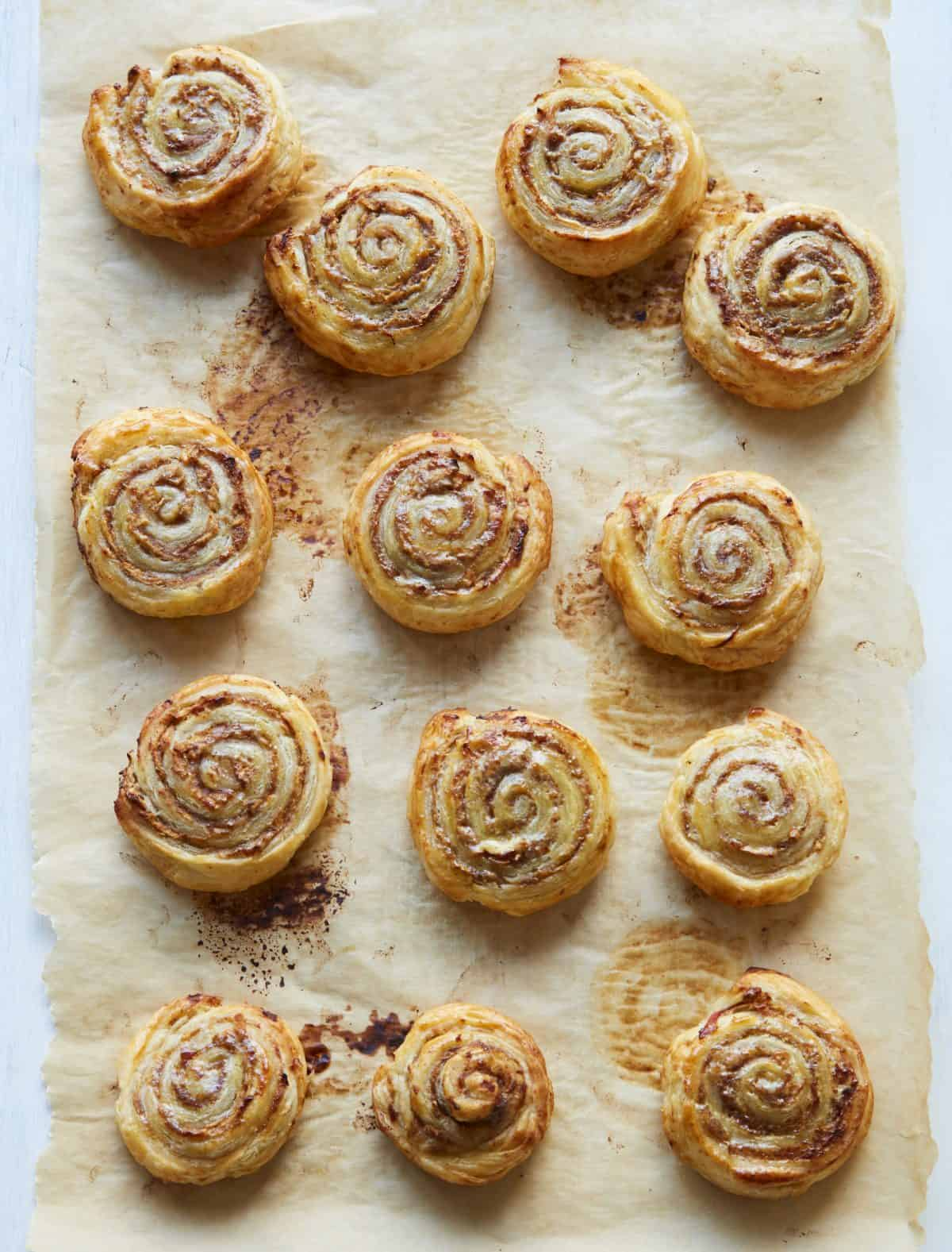 Sweet breakfast pinwheels recipe | Recipe credit: What Mummy Makes: Family Meal Planner by Rebecca Wilson. Published by DK, 10 December, £9.99.