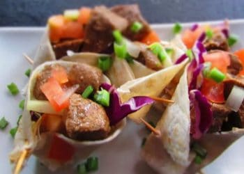 How To Make: Asian Mini Beef Wraps