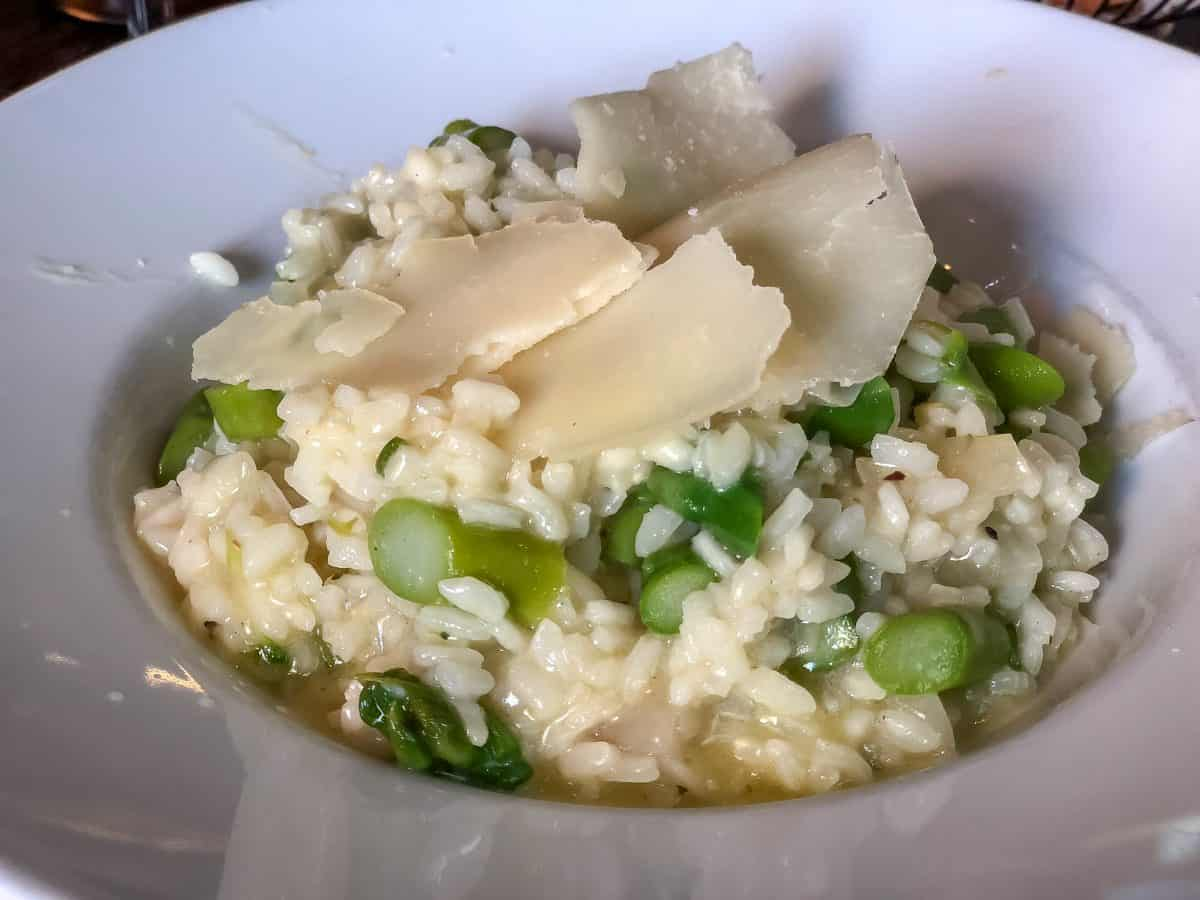 Asparagus risotto recipe photo by Marco Verch : Flickr