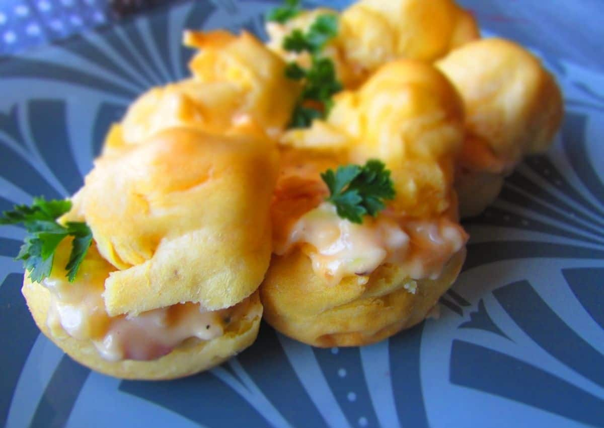How To Make: Savoury Cheese Puffs