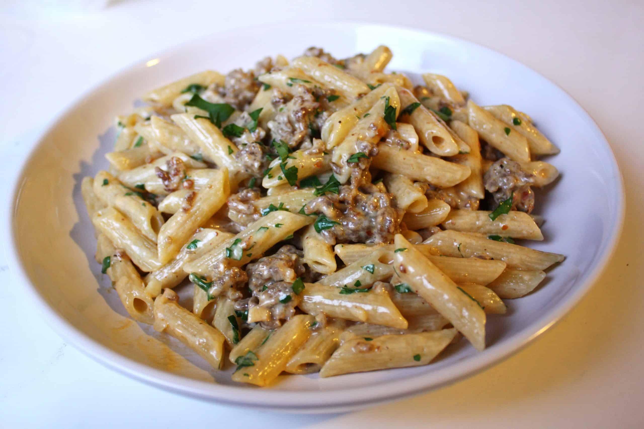 Sausage pasta recipe cheat's ragù| Photo: alanagkelly / Flickr