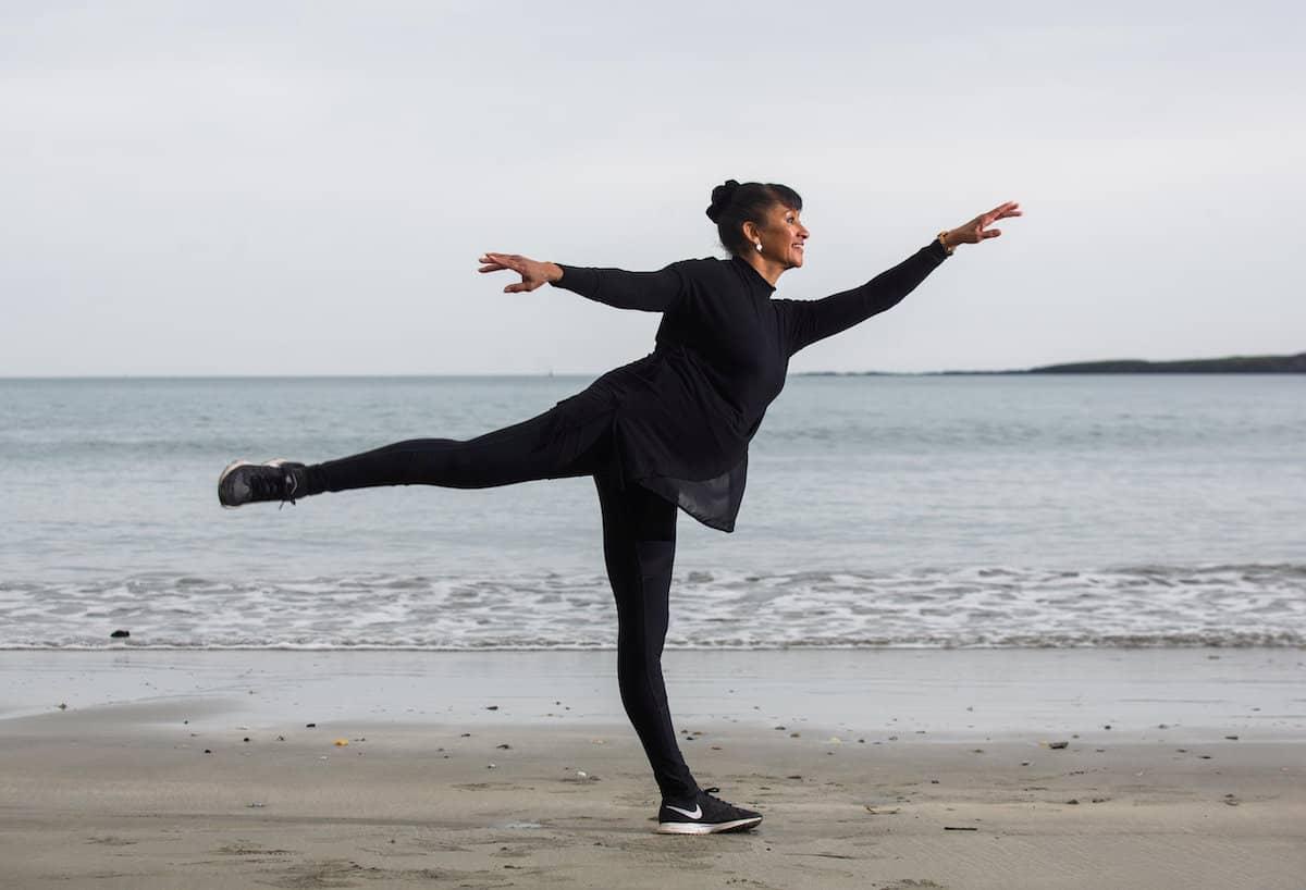 Ballerina Julie Felix - Credit;SWNS