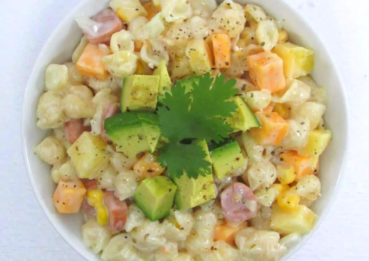 How To Make: Tropical Pasta Salad
