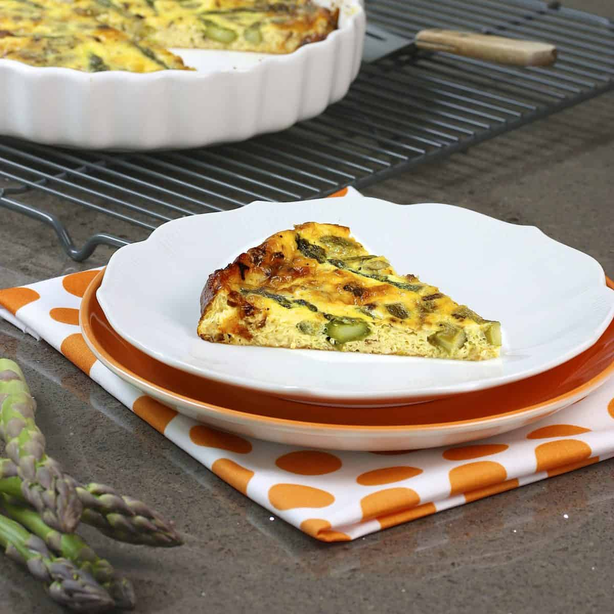 Asparagus Quiche recipe | Photo: Meal Makeover Moms / Flickr