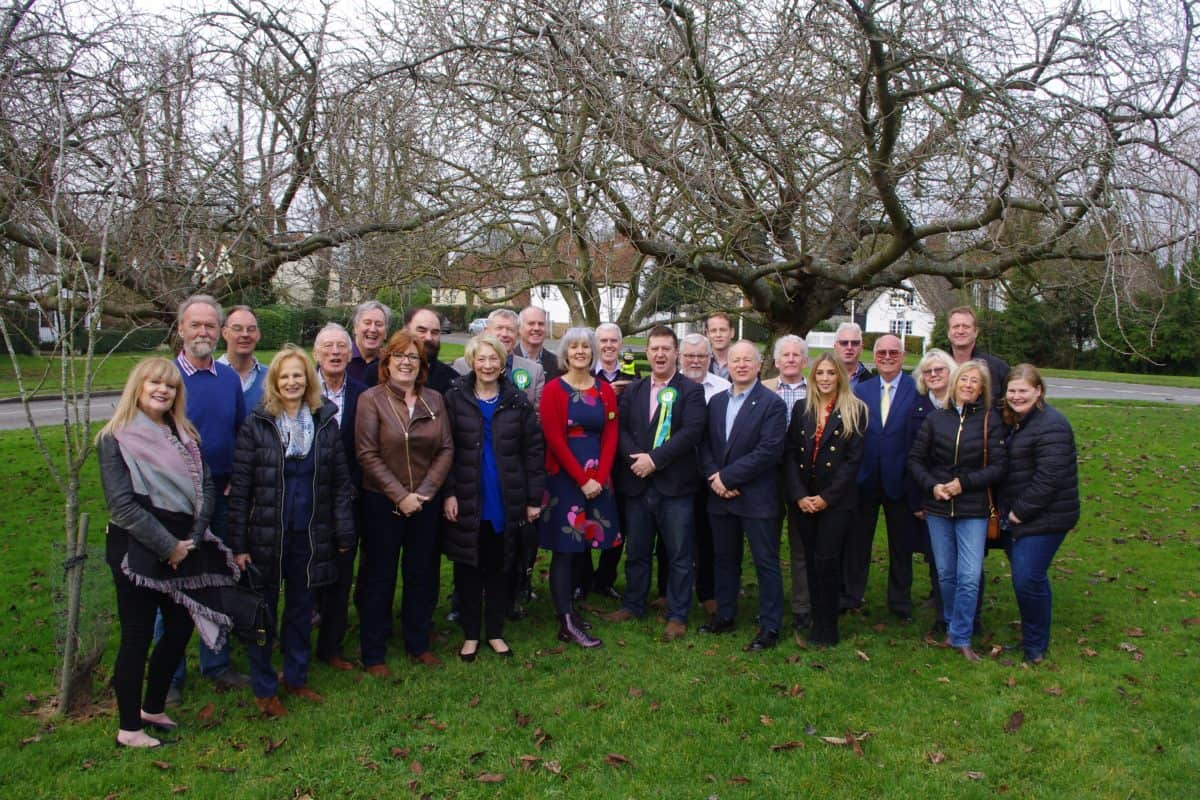 Current and former Residents for Uttlesford councillors