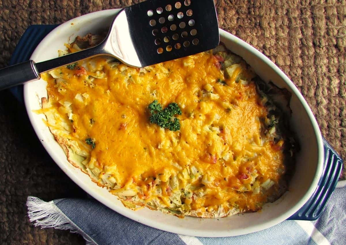How To Make: Cabbage Bake