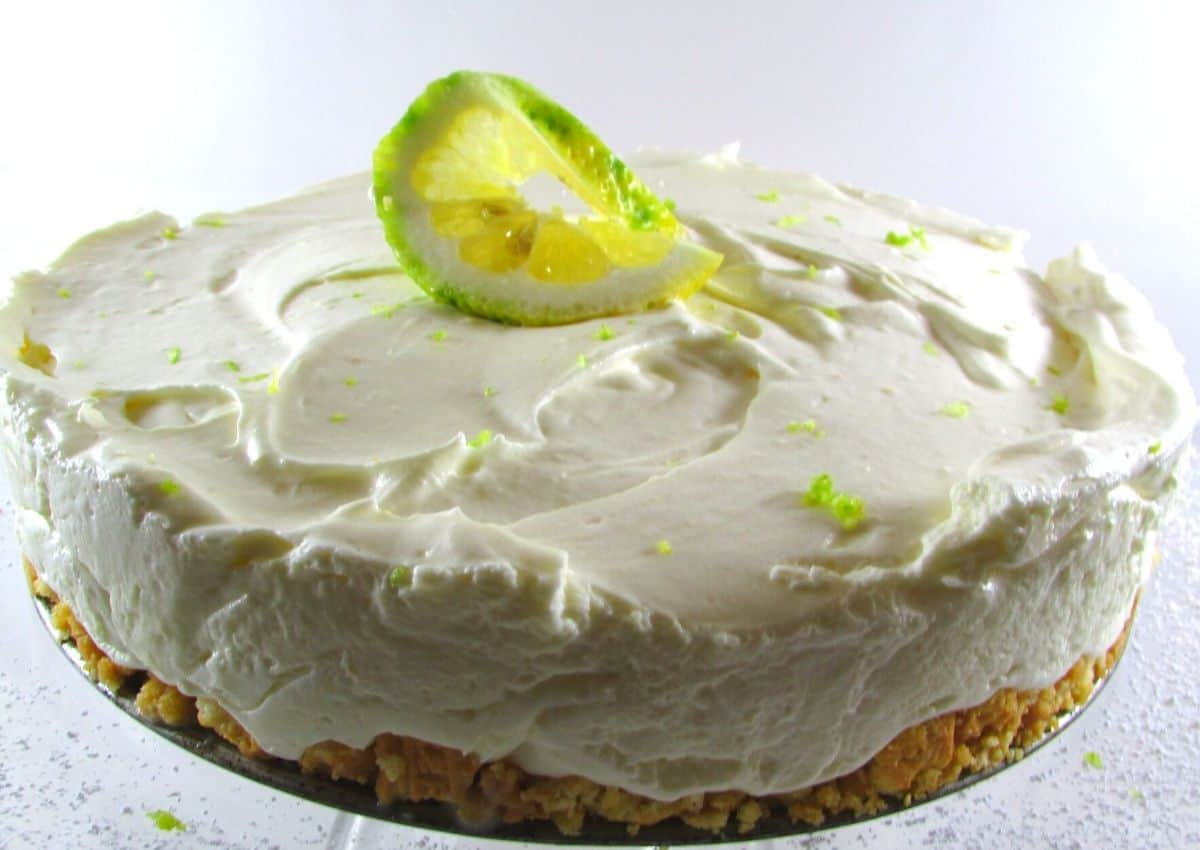 How To Make: No-bake Lemon Cheesecake