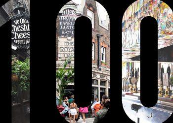 Top 100 pubs in London