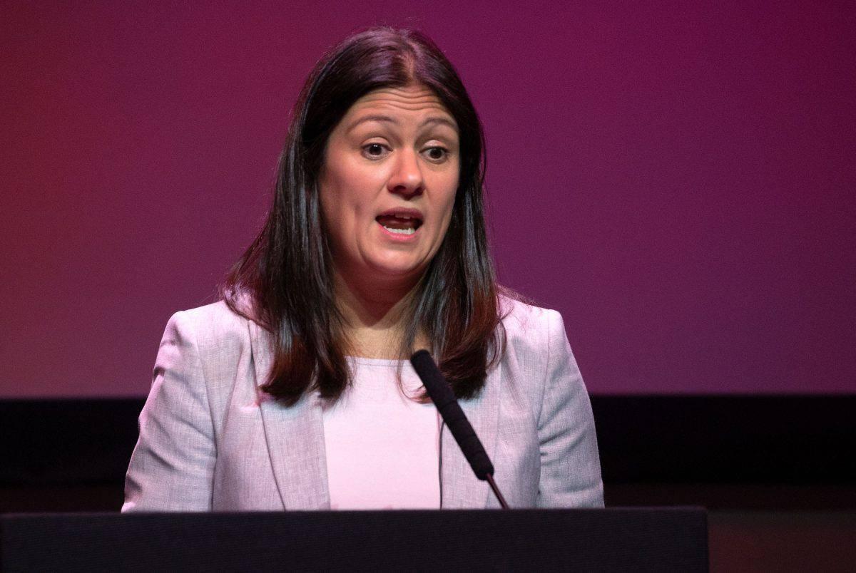 Labour's shadow foreign secretary Lisa Nandy
