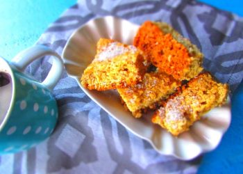 How To Make: Coconut Coffee Biscuits