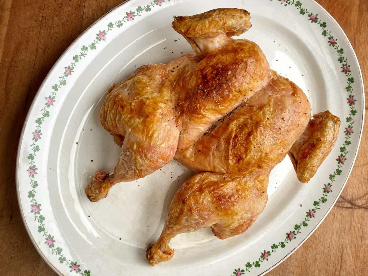 Perfect roast chicken recipe landscape Chicken recipes best roast chicken