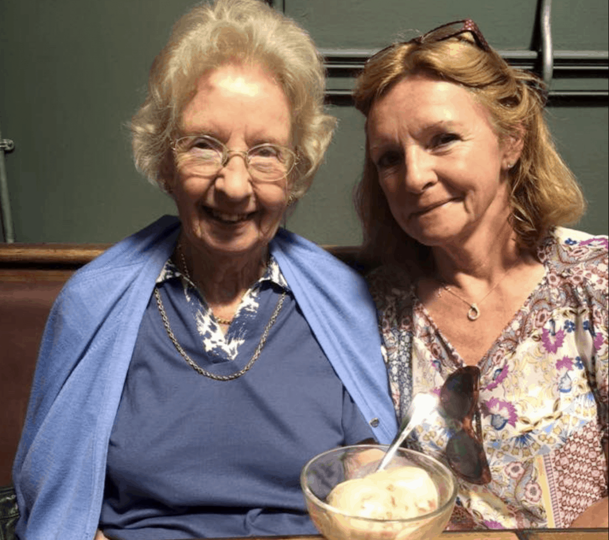 Polly and Jane Rackham