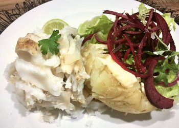 How To Make: Steamed Hake with potatoes