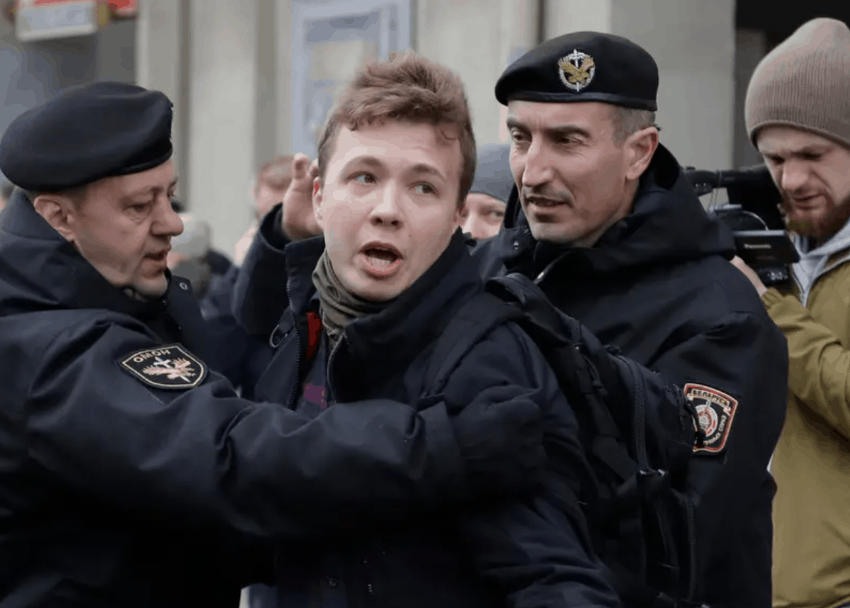 Belarusian Journalist Raman Pratasevich