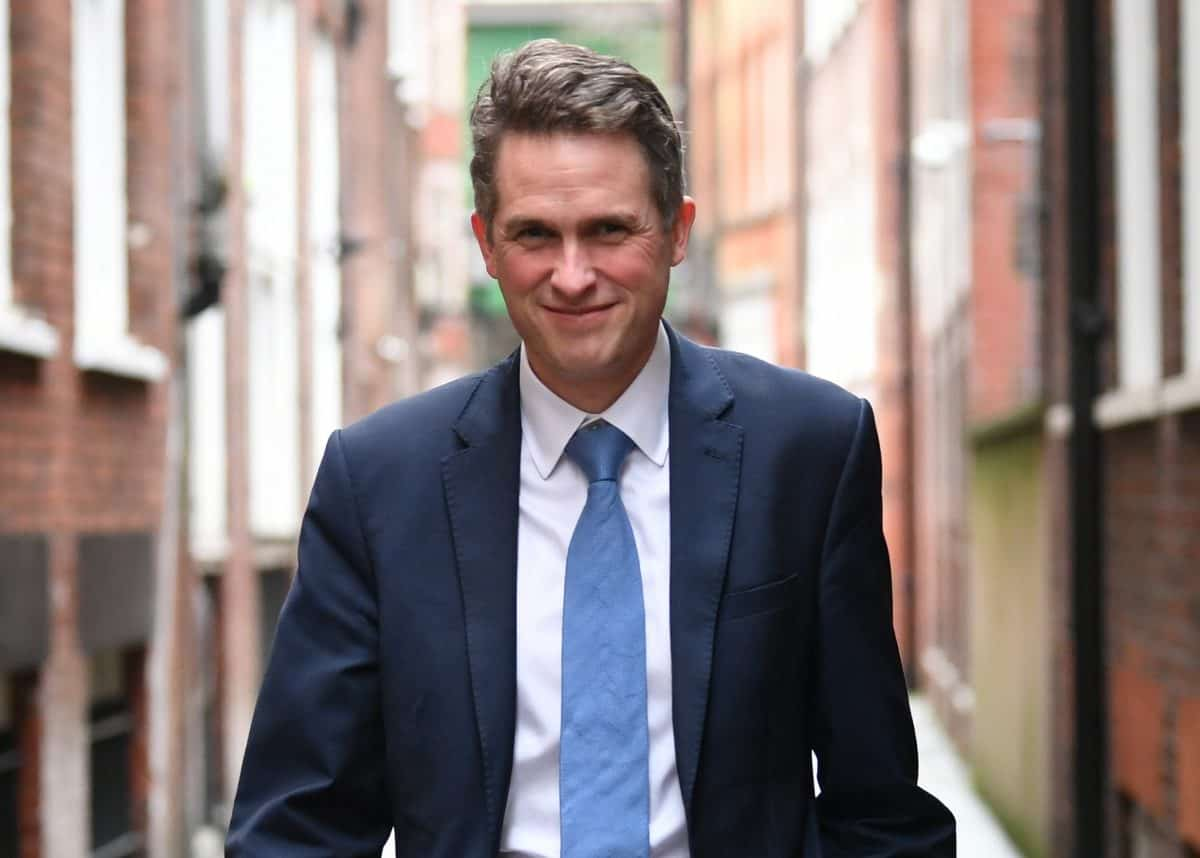 Education Secretary Gavin Williamson in Westminster, London. Picture date: Wednesday January 27, 2021.