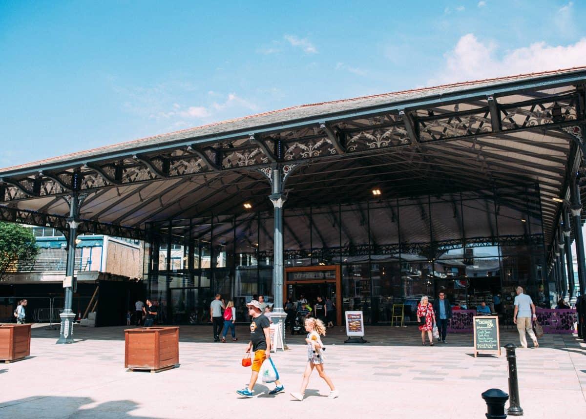 The regenerated Preston Market Hall. Image: Preston City Council