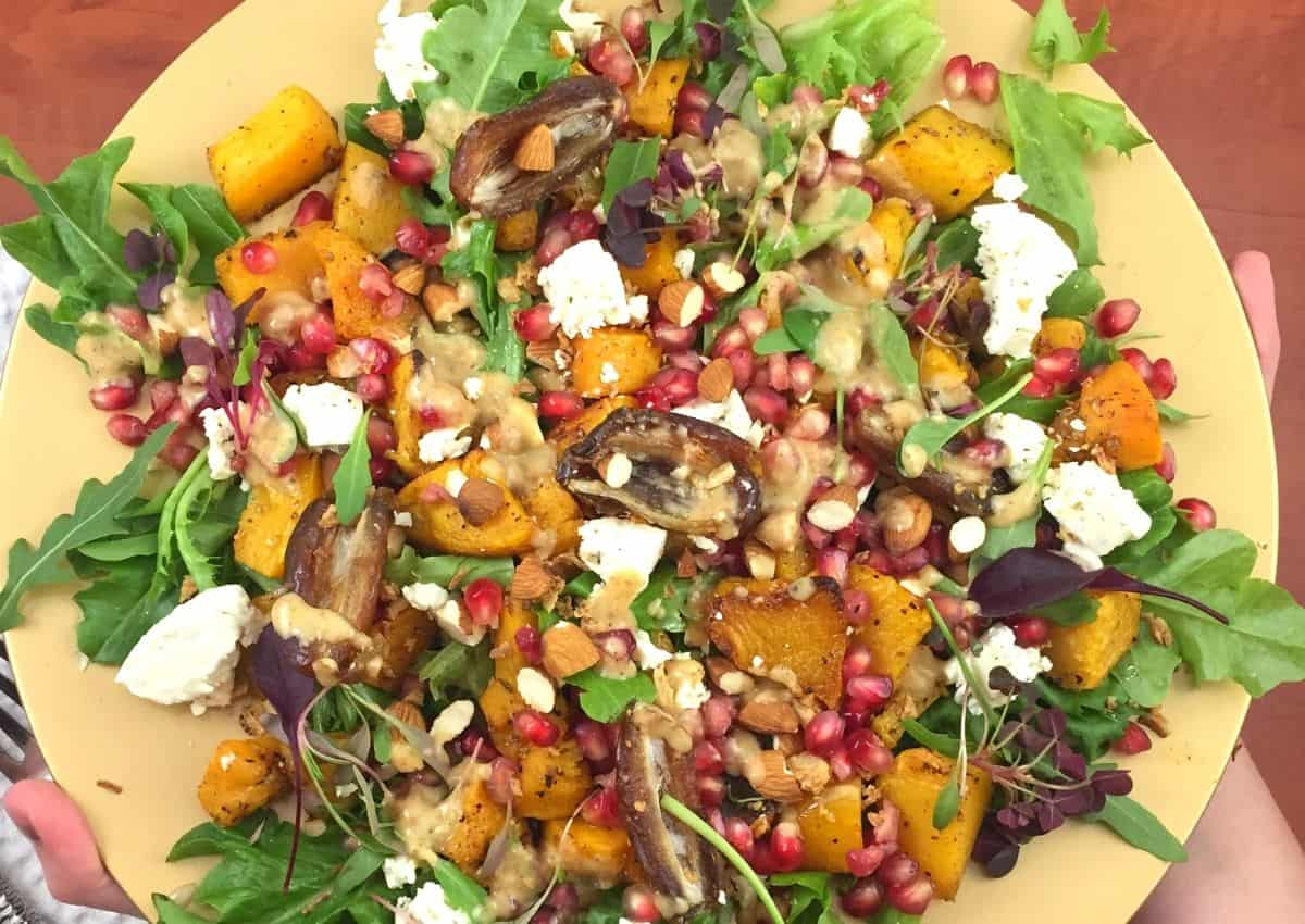 How To Make: Roasted Butternut Salad