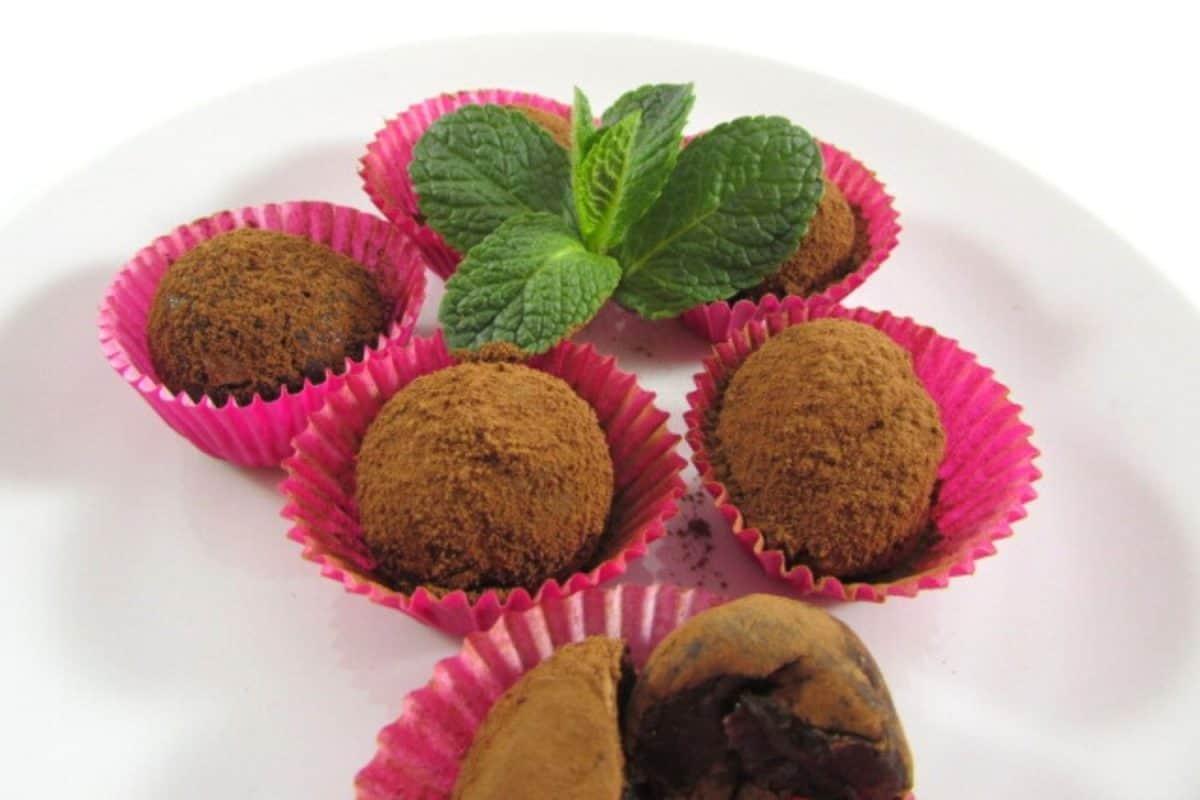 Effortless Truffles Filled With Decadent Dark Chocolate