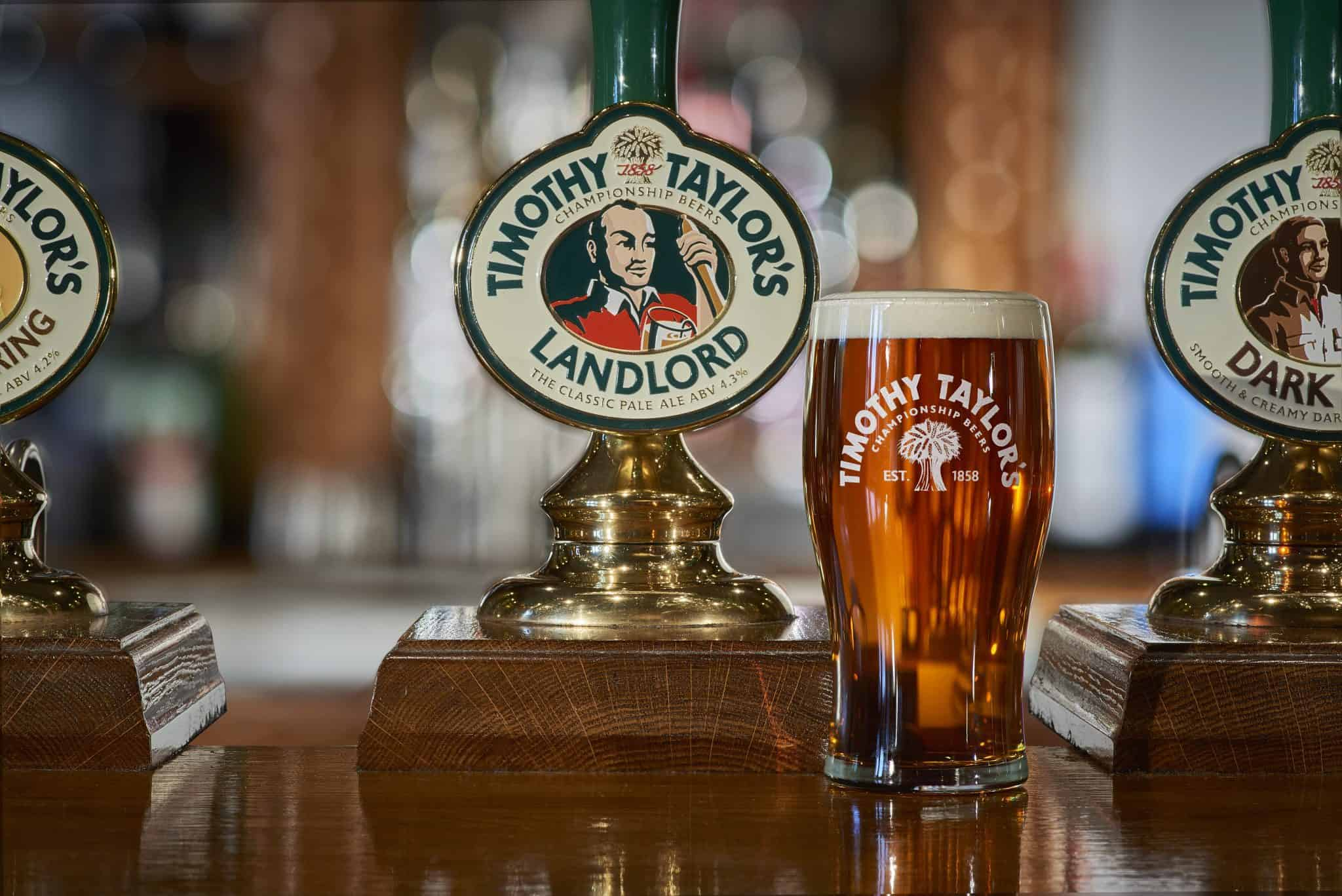 Landlord PUMP CLIP AND GLASS Euro 2020 - the best beers from all 24 competing countries