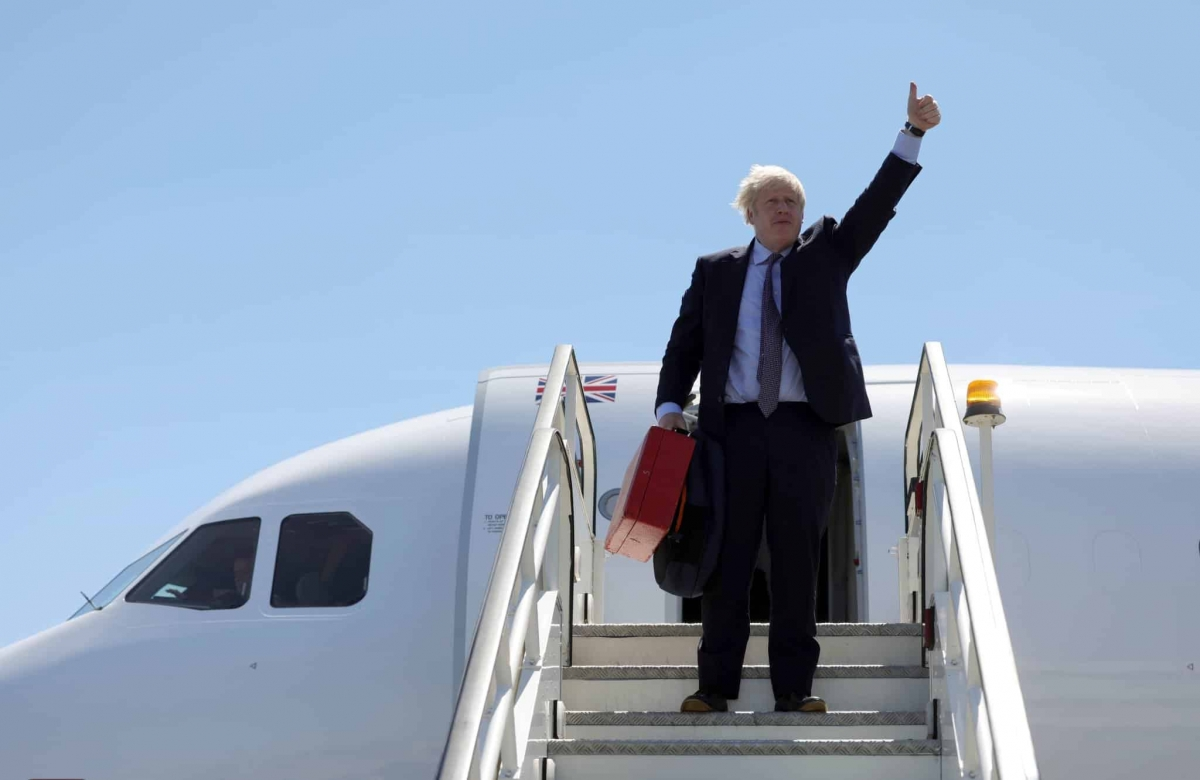 Boris Johnson, Twitter