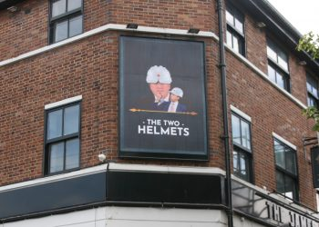 The Two Helmets pub. Photo credit: Activate Digital.