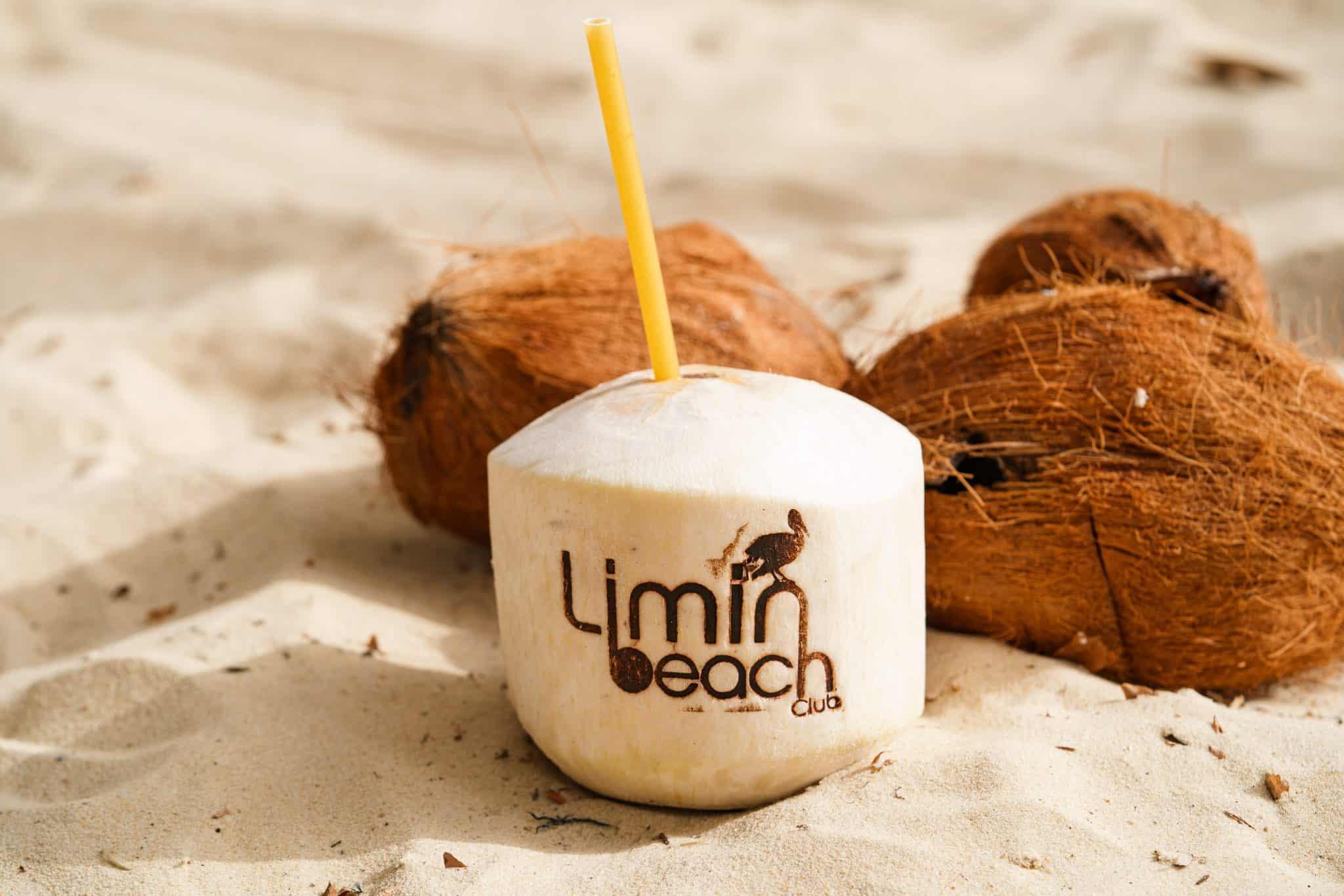 Limin' Beach Club Coconut