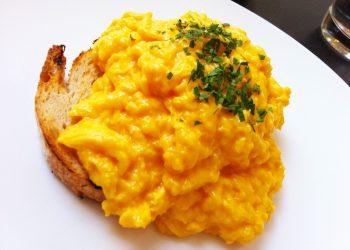 Scrambled eggs on toast at Speakeasy in South Yarra Photo: Katherine Lim / Flickr