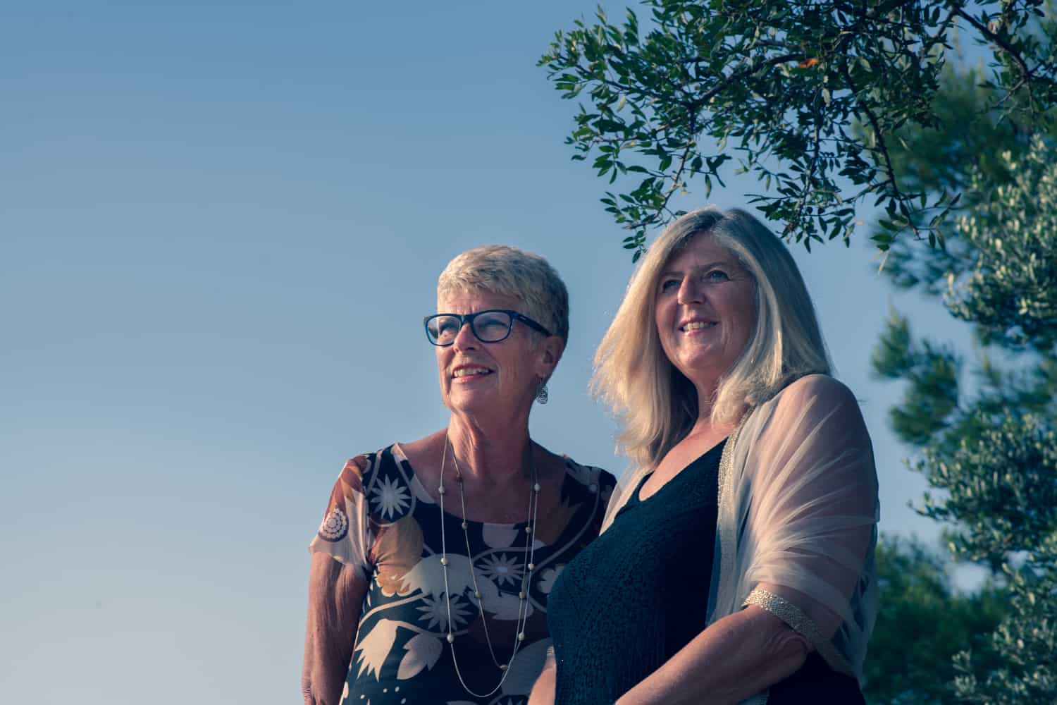 Left to right: Sue Wilson and Debbie Williams