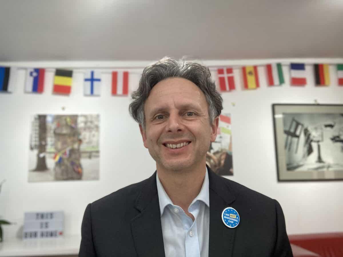 Nicolas Hatton, CEO at EU citizens rights organisation the3million