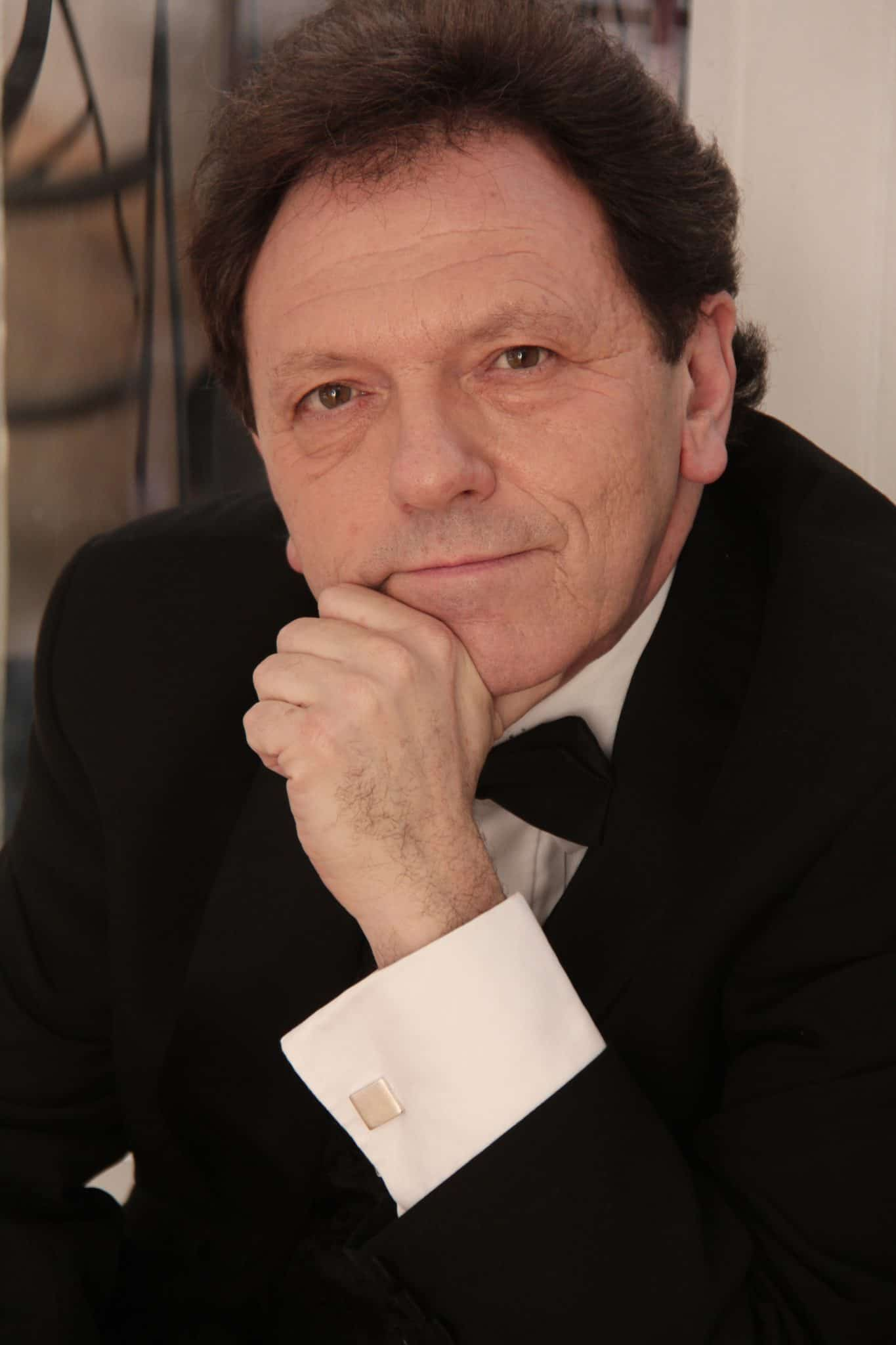 Leon Berger, opera singer and stage director.