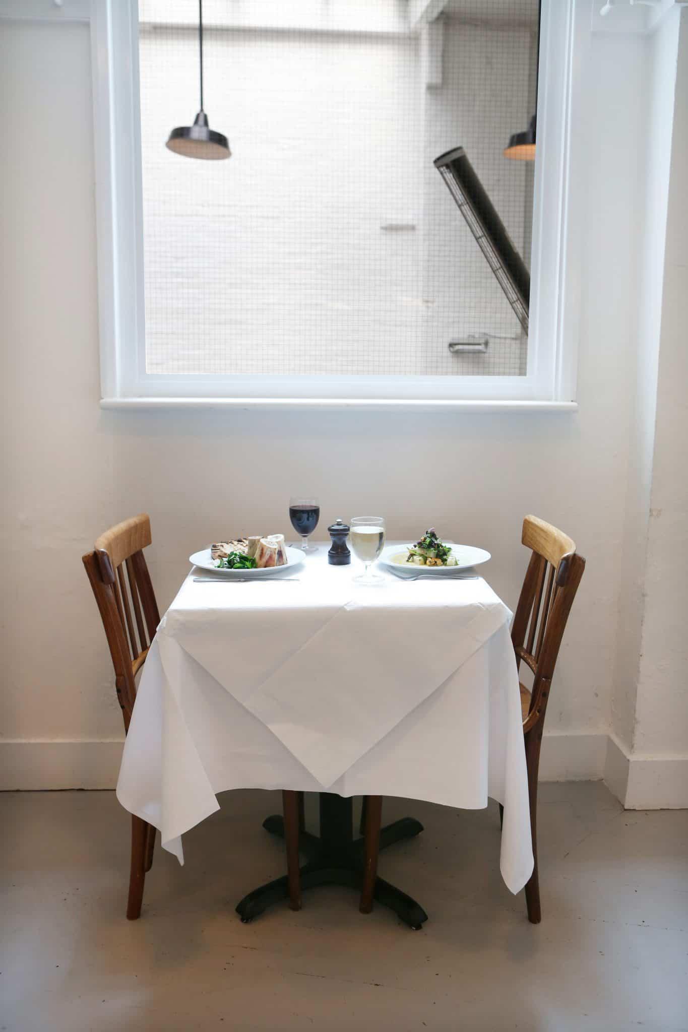 St. JOHN dining room table | Photo: Stefan Johnson