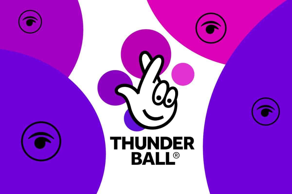 Friday's LIVE Thunderball Draw Results