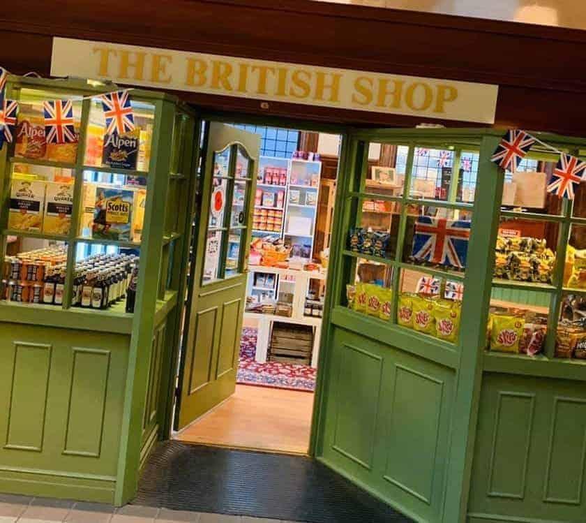 The British Shop Gothenburg, Facebook