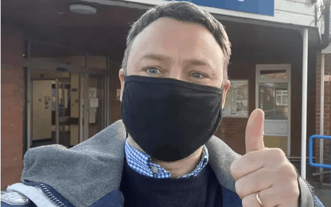 Tory MP Brendan Clarke-Smith.