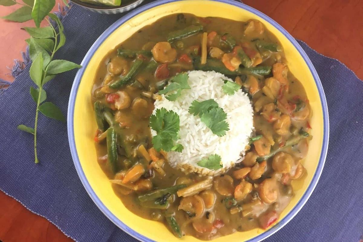 Green Pork Curry