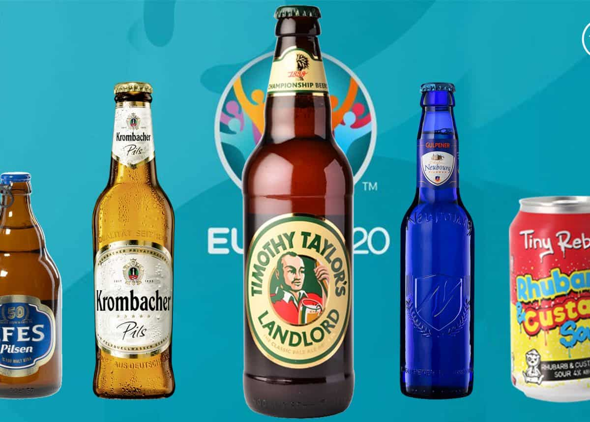 Euro 2020 - the best beers from all 24 competing countries